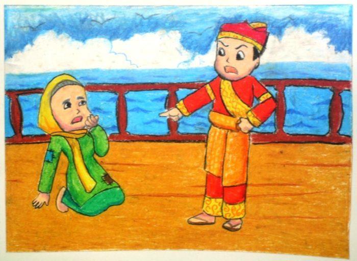 Indonesian Folktale Malin Kundang