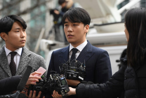 BIGBANG Seungri Officially Withdraws from Entertainment Industry