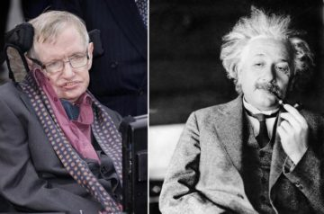 Hawking Death, Einstein Birth, and Pi Day